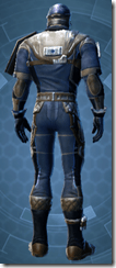 Republic Officer - Male Back