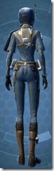 Civilian Pilot - Female Back