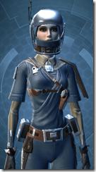 Civilian Pilot - Female Close