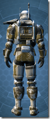 RD-16B Enforcer Pub - Male Back