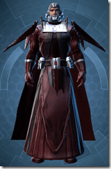 Sith Archon - Male Front