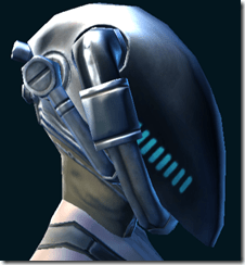 Deep Space Starfighter Helmet Right