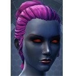 Appearance Options: Chiss Customization 1 (Hair Color 8)