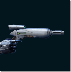 Dread Guard Combat Tech's Blaster Pistol