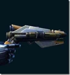 Elite War Hero Combat Medic's Blaster Pistol