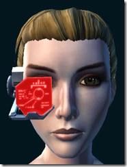 Red Efficiency Scanner Close
