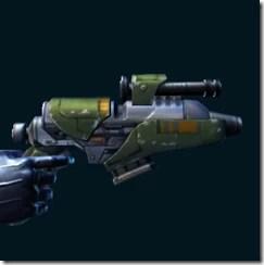 War Hero Combat Tech's Blaster Pistol