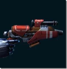 War Hero Supercommando's Blaster Pistol