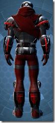Firebrand Warrior Animated - Male Back