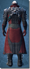 Kell Dragon Agent - Male Back