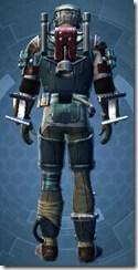 Kell Dragon Bounty Hunter - Male Back