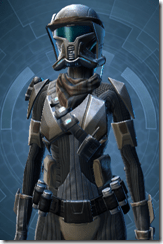 Kell Dragon Trooper - Female Close