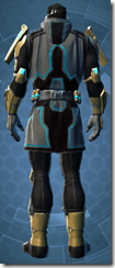 Kell Dragon Knight - Male Back