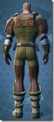 Mercenary - Male Back