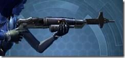 Custom-built Blaster Rifle