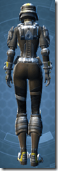 RD-15A Mercenary Pub - Female Back