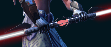 Darth Bandon's Double-bladed Lightsaber