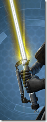 Energized Conqueror's Lightsaber Close