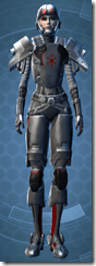Imperial Huttball Away - Female Front