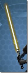 Volatile Derelict Lightsaber