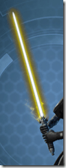 Ziost Guardian's Lightsaber
