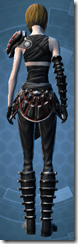 Darth Sion - Female Back