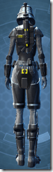 Volatile Shock Trooper - Female Back