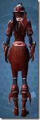 Obroan Inquisitor - Female Back