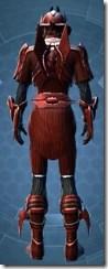 Obroan Inquisitor - Male Back