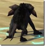Black Womp Weasel - Back