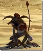 Flamehair Kowakian Monkey-lizard - Front