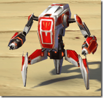 GS-1 Sentry Droid - Front
