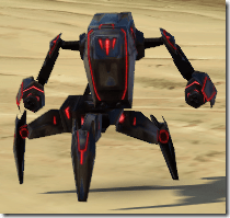 Micro-Aggressor Droid - Front