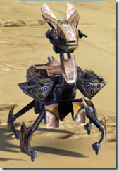 Miniature Isotope-5 Droid - Front