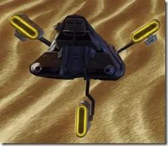 Model D-5 Mantis - Back