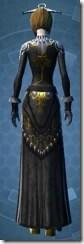 Elegant Dress - Female Back