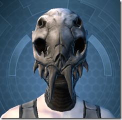 Trophy Hunter's Mask - Female Front