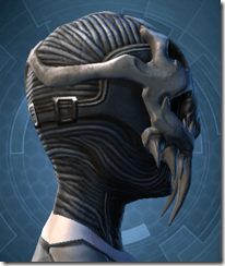 Trophy Hunter's Mask - Female Right