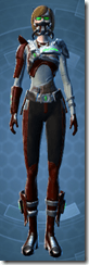 Voltaic Sleuth - Female Front