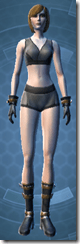 Dark Jedi - Female Front