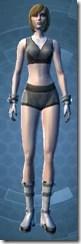 Warrior Captain - Female Front