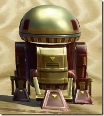 D5-2D Astromech Droid - Back
