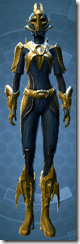 Dread Forged Consular - Female Front