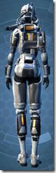 Energized Infantry - Female Back