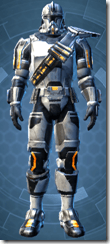 Energized Infantry - Male Front