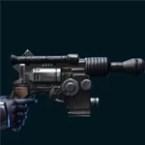 Partisan Combat Medic/ Eliminator/ Combat Tech/ Supercommando Blaster Pistol