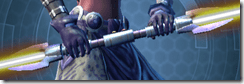 Dark Zealot's Double-bladed Lightsaber
