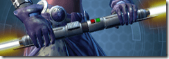 Dark Seeker's Double-bladed Lightsaber