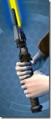 Pitiless Raider Lightsaber