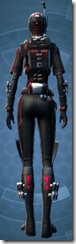 THORN Sanitization Armor - Female Back
